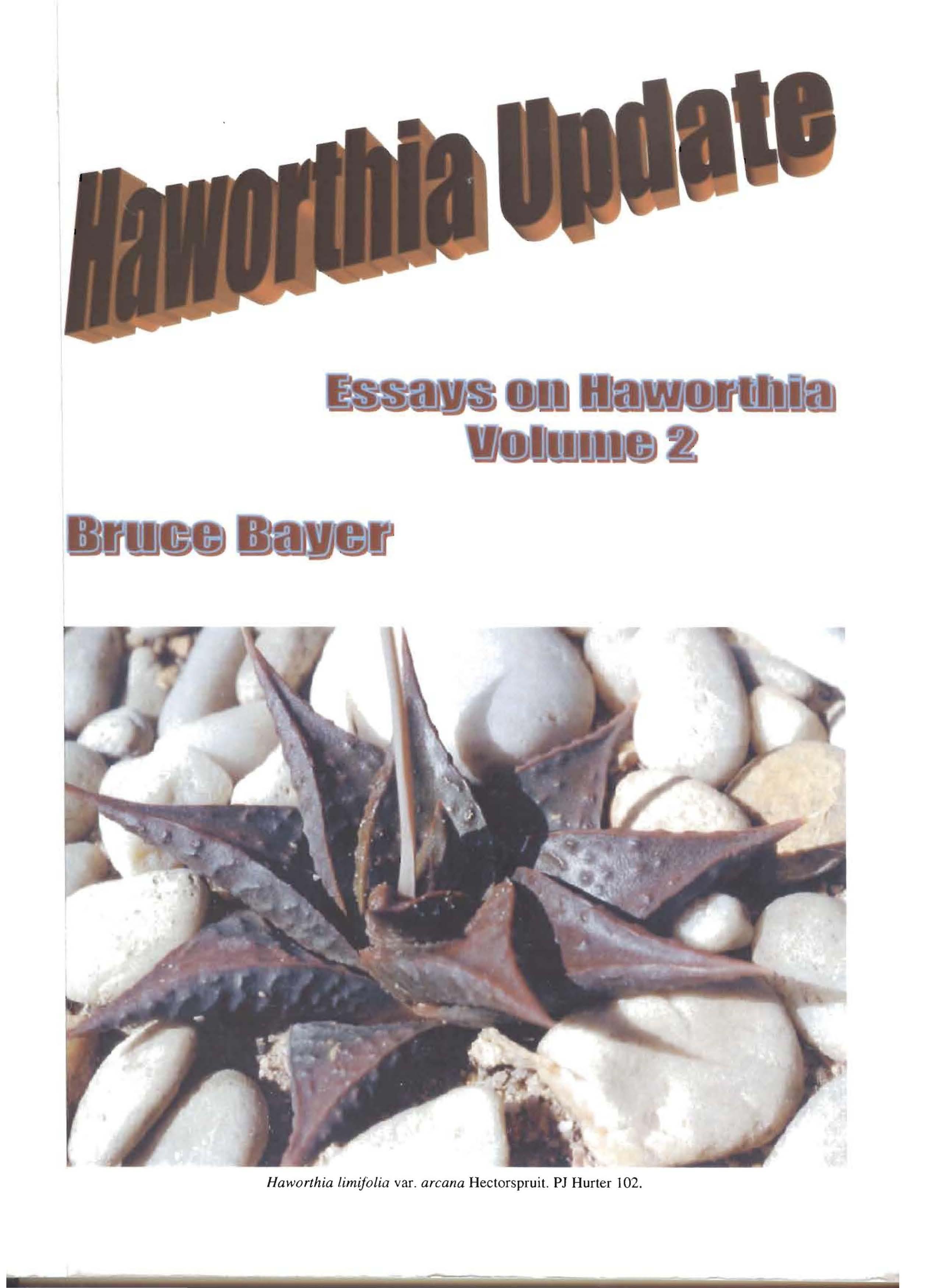 Haworthia Updates vol. 2
