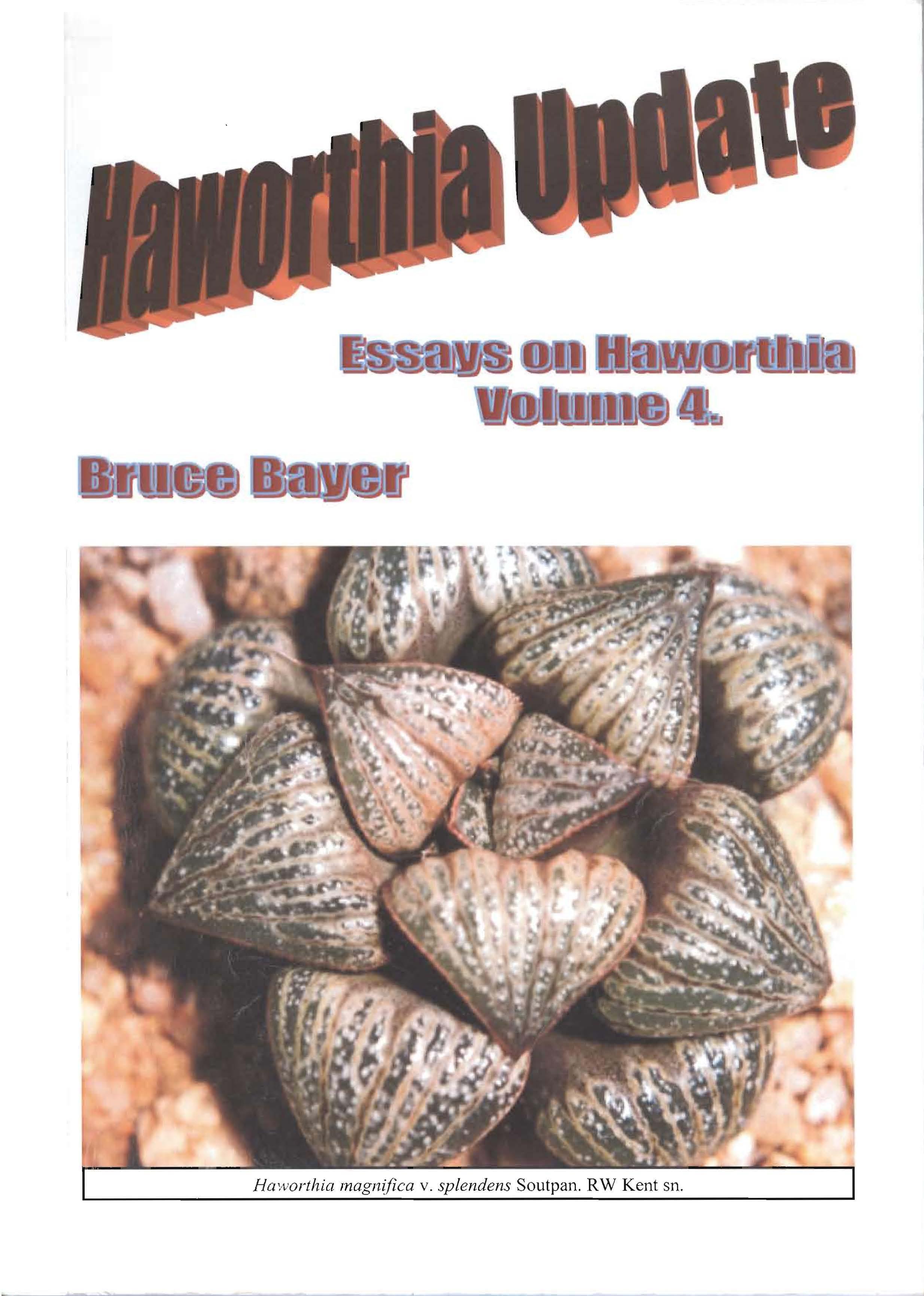 Haworthia Updates vol. 4