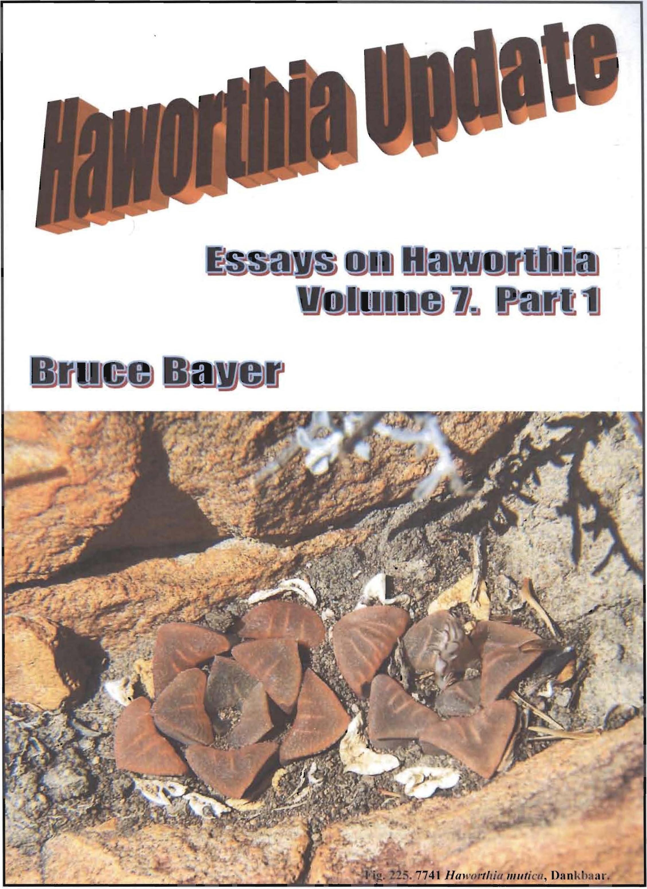 Haworthia Updates vol. 7