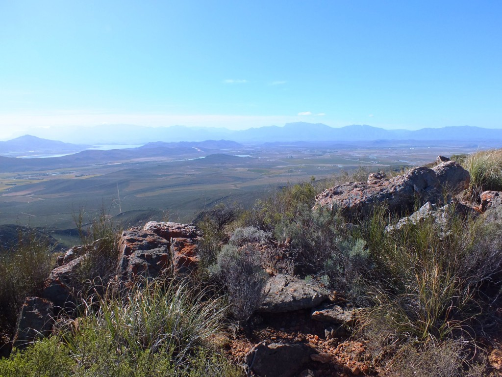 view from Hammansberg northwards