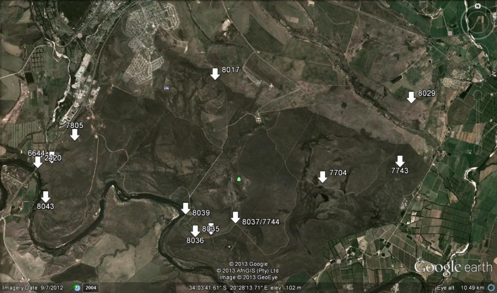 Map 1. Bontebok Park