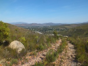 View 1 over Greyton from the northeast